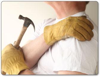 treating  deltoid bursitis