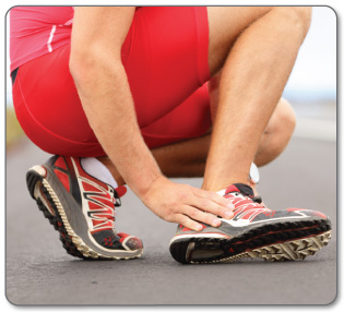 Calcaneal (heel) or Achilles bursitis can be very painful - pain can be managed with conservative treatments.