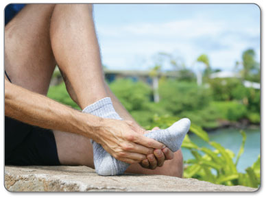 ball foot bursitis pain where did it come from?