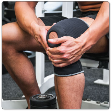 Heal after knee bursitis surgery with conservative treatment methods.